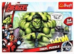 TREFL Puzzle mini 54 el. AVENGERS Hulk (19496)