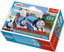 TREFL Puzzle mini 54 el. Tomek i przyjaciele (19551)