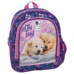 Plecak przedszkolny wycieczkowy CLEO & FRANK Piesek (PL10CF17)