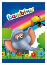 Zeszyt w kolorową linię 16 kartek, BAMBINO (01796)