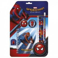 Zestaw 6 przyborów szkolnych SPIDER-MAN HOMECOMING (ZPS6SH10)