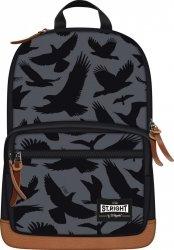 Plecak miejski ST.RIGHT młodzieżowy orły na szarym tle, EAGLE BP46 (91595)