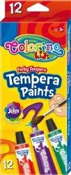 Farby tempera w tubkach z pędzelkiem COLORINO (68420PTR)