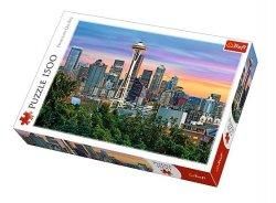 TREFL Puzzle 1500 el. Space Needle, Seattle, USA (26135)