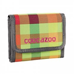 Coocazoo portfel CashDash 2, Hip To Be Square Green (129944)