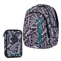 ZESTAW 2 el. Plecak CoolPack PRIME w śrubki, SCREWS (B25033SET2CZ)