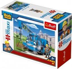 TREFL Puzzle miniMaxi 20 el. Bob Budowniczy (21008)