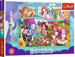 TREFL Puzzle 200 el. ENCHANTIMALS Niezwykły świat Enchantimals (13261)