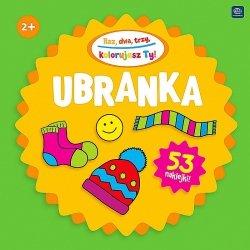 Kolorowanka RAZ DWA TRZY 2+ UBRANKA (34124)