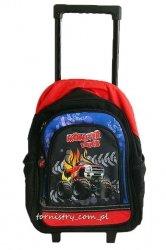 Plecak szkolny na kółkach MONSTER TRUCK (INT25795)
