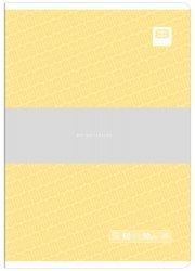Zeszyt A5 60 kartek w linię BB PASTEL Żółty (55617)