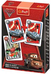 TREFL Gra karty PIOTRUŚ, Cars Auta (08272)