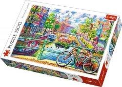 TREFL Puzzle 1500 el. Kanał Amsterdamski (26149)