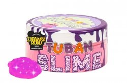 TUBAN Super Slime glut BROKAT NEON RÓŻOWY 0,2kg  (TU3026)
