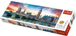 TREFL Puzzle 500 el. PANORAMA Big Ben i Pałac Westminsterski, Londyn (29507)