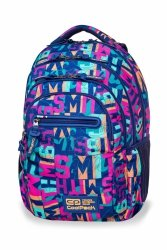 Plecak CoolPack COLLEGE TECH w kolorowe napisy, MISSY (B36100)