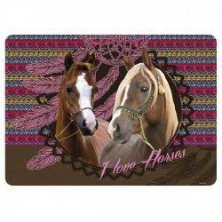 Podkładka laminowana I LOVE HORSES Konie (PLAKO06)
