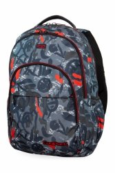 Plecak CoolPack BASIC PLUS w szare wzory, RED INDIAN (B03005)
