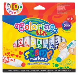 Flamastry pieczątki COLORINO KIDS (34623PTR)