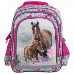 ZESTAW 3 el. Plecak szkolny I LOVE HORSES Konie (PL15BKO18SET3CZ)