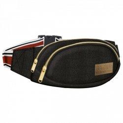 SASZETKA NERKA BackUP na pas torba CANVAS czarna (TBCB2A57)