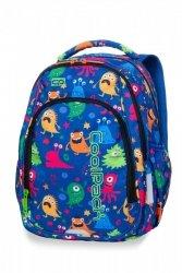 Plecak CoolPack STRIKE S zabawne potworki FUNNY MONSTERS (A17206)