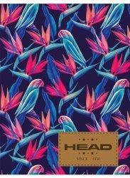 Zeszyt A5 w kratkę 60 kartek HEAD w papugi, PARROTS HD-364 (102019022)