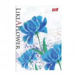 Zeszyt A5 w linię 80 kartek Like a Flower (07103)