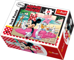 TREFL Puzzle mini 54 el. Myszka Minnie (19475)