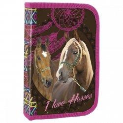Piórnik z wyposażeniem I LOVE HORSES Konie (PWJKO16)