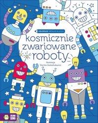 Koloruję według klucza. Kosmicznie zwariowane roboty (36931)