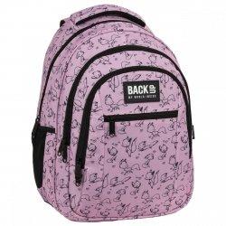 Plecak szkolny młodzieżowy BackUP 26 L lisy, LOVE (PLB3O28)