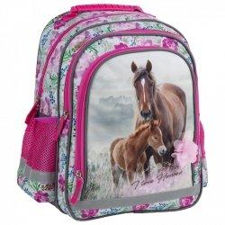 ZESTAW 4 el. Plecak szkolny I LOVE HORSES Konie (PL15BKO18SET4CZ)