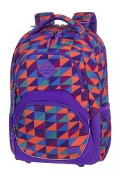 Plecak szkolny młodzieżowy COOLPACK VIPER kolorowe trójkąty, TRIANGLE MOSAIC (81150CP)