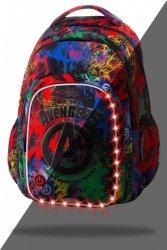 Plecak CoolPack SPARK LED graffiti, AVENGERS (B45307)