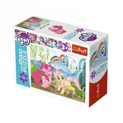 TREFL Puzzle miniMaxi 20 el. My Little Pony, Wesoły dzień kucyków (21076)