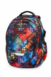 Plecak CoolPack FACTOR w kolorowe bloki, BLOX (B02014)