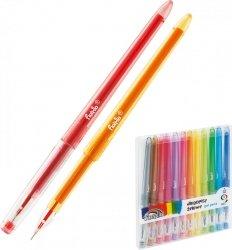 Długopisy żelowe 12 kolorów (160-2140)