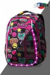 Plecak CoolPack LED STRIKE S emotikony EMOTICONS (94641)