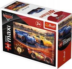 TREFL Puzzle miniMaxi 20 el. Cars Auta 3 (21047)