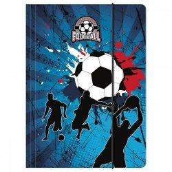 Teczka rysunkowa A4 z gumką FOOTBALL Piłka nożna (TGA4P01)