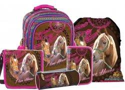 Plecak szkolny I LOVE HORSES Konie (PL15BKO16SET5CZ) ZESTAW 5 el.