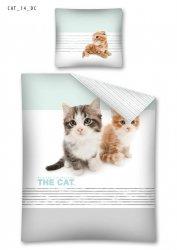 Komplet pościeli pościel THE CAT 140 x 200 cm (CAT14)