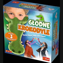 TREFL Gra zręcznościowa Głodne krokodyle (01624)