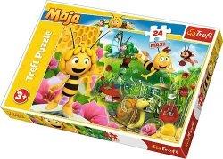 TREFL Puzzle MAXI 24 el. W świecie Pszczółki Mai, Pszczółka Maja (14297)