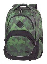 Plecak szkolny młodzieżowy COOLPACK VIPER zielone moro, CAMO GREEN (81112CP)