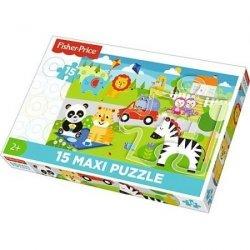TREFL Puzzle 15 Maxi Piknik z przyjaciółmi (14286)