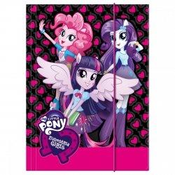 Teczka rysunkowa A4 z gumką My Little Pony EQUESTRIA GIRLS (TGA4EG)