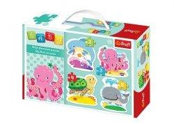 TREFL Puzzle BABY CLASSIC W głębinach (36055)