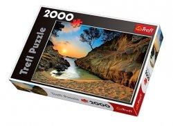 TREFL Puzzle 2000 el. Wschód słońca, Costa Brava, Hiszpania (27048)